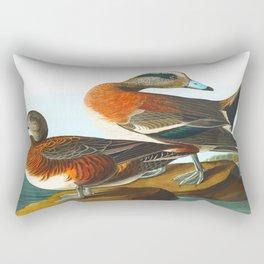 American Wigeon Bird Rectangular Pillow