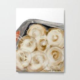 Lisa's Cinnamon Rolls Metal Print