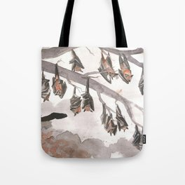 Thirteen Bats Tote Bag