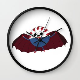 Contaminated Candy: Peppermint Butler Wall Clock