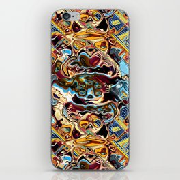 Chaotic Abstract Conglomeration iPhone Skin