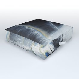 Glass of the water in the light Outdoor Floor Cushion