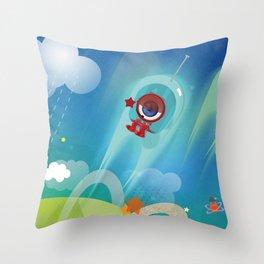 The Eyez - Astronaut Throw Pillow