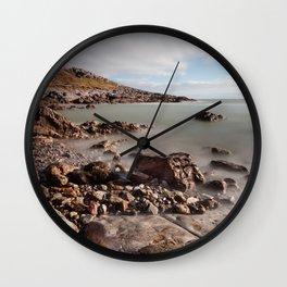 Limeslade Bay and Tut Hill headland Wall Clock