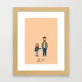 Hugh Jackman - Logan Framed Art Print