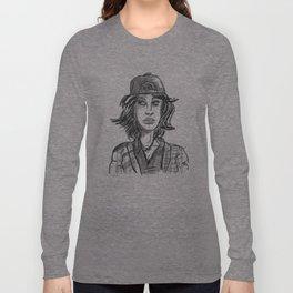 Hypebeast with Braces as a Girl Long Sleeve T-shirt