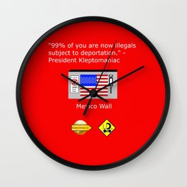 99% of Americans Wall Clock