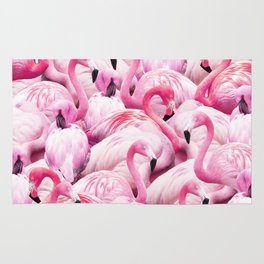 Flamingo Party Rug