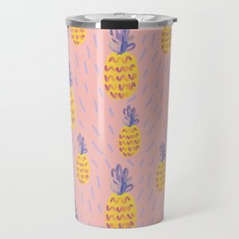 Pineapple Memphis #pineapple #pink Travel Mug