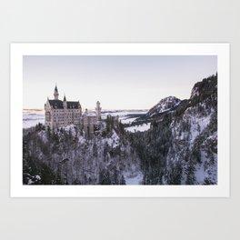 Neuschwanstein Castle Art Print
