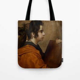 "Diego Velázquez ""A Sybil (Portrait of Juana Pacheco)"" Tote Bag"