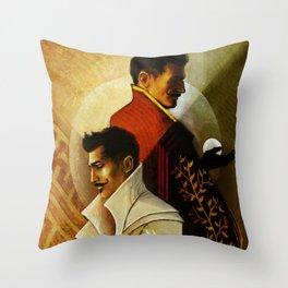 Gemini Zodiac Sign Dorian Pavus Throw Pillow