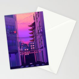 Tokyo Day Stationery Cards