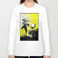 fight Long Sleeve T-shirts featuring Fight by TrueLoveStory