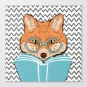 Reading Fox by evieseo