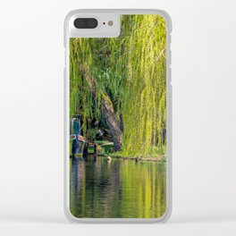Canal Boat Clear iPhone Case
