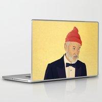 steve zissou Laptop & iPad Skins featuring Zissou by Perry Misloski