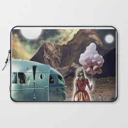 Girl with Balloons Laptop Sleeve