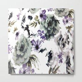 Kwan Yin Roses Metal Print
