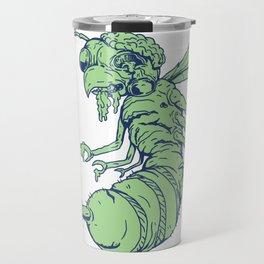 Zombie Bee Cartoon Travel Mug