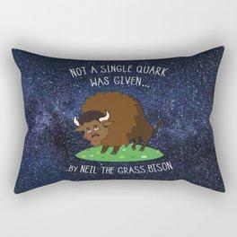 Neil deGrasse Tyson Science Rectangular Pillow