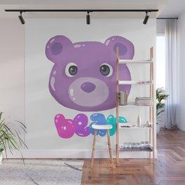 Bubble Bear Wall Mural
