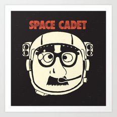Space Cadet Art Print
