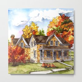 October on the Farm Metal Print