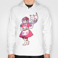 puppycat Hoodies featuring bee & puppycat by SERAPHIC ROYALTY