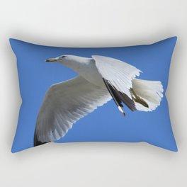 Ring-Billed Gull in Flight Rectangular Pillow