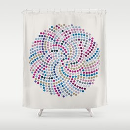 High Life (III) Shower Curtain