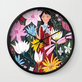 Yuko Nagamori   Hana Yoi, 2009 Wall Clock