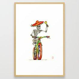Dead Rider Framed Art Print