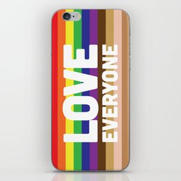 Love Everyone Flag iPhone Skin