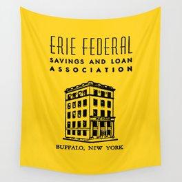 Erie Federal Savings & Loan Wall Tapestry