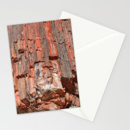 Agathe Log Texture Stationery Cards
