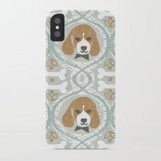 dapperific dog Slim Case iPhone X