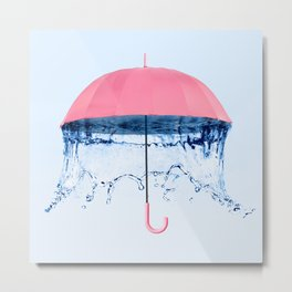 UMBRELLA Metal Print