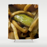 food Shower Curtains featuring Food by James Kilgore