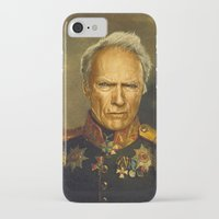 replaceface iPhone & iPod Cases featuring Clint Eastwood - replaceface by replaceface