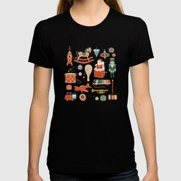 Vintage Christmas Toys T-shirt