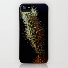 Cacti, Strength From A Deep Reservoir iPhone Case