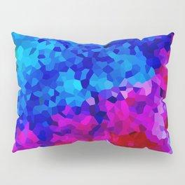 Rock Candy Blue Tie Dye. Pillow Sham