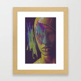 Judgement Figurative Abstract Framed Art Print