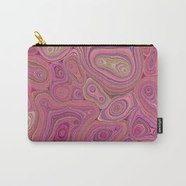 Mineralicious-Pink Agate Carry-All Pouch