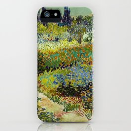 Vincent Van Gogh - Garden at Arles iPhone Case