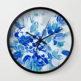 Wedding Bell Blues Wall Clock