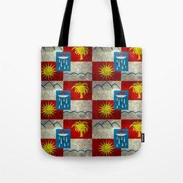 Sochi flag - Vintage version Tote Bag