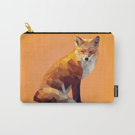Geometric Fox Carry-All Pouch