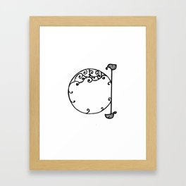 LETTER 'A' Framed Art Print